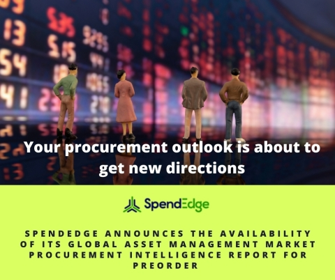 Global Asset management Procurement Market Intelligence Report Available for preorder (Graphic: Business Wire)