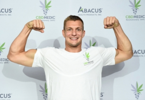 Rob Gronkowski returns to professional football. (Source: Abacus)