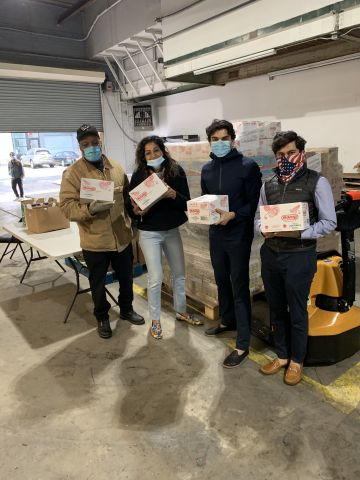 House of Spices India, Inc. Partners with Congressional Candidate Suraj Patel To Provide $10,000 Worth of Food Donations To Front Line Healthcare Workers And At Risk Communities (Photo: Business Wire)