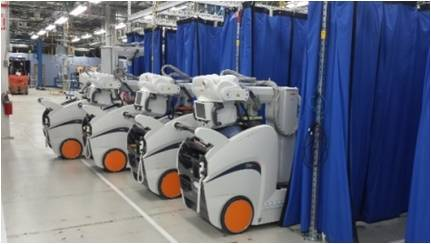 Carestream's DRX-Revolution Mobile X-ray Systems (Photo: Business Wire)