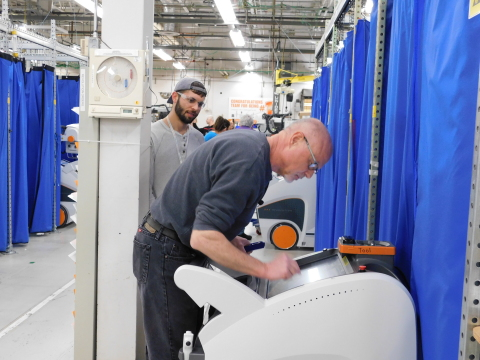 Carestream Health increases production of mobile imaging systems. (Photo: Business Wire)
