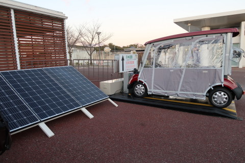 DAIHEN leverages WiTricity wireless charging technology for a solar powered mobility demonstration in Japan (Photo: Business Wire)