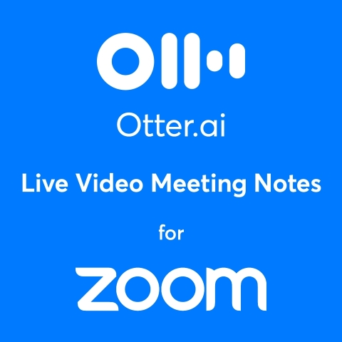 Otter.ai Live Video Meeting Notes for Zoom (Graphic: Business Wire)