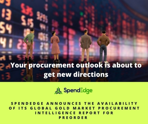 Global Gold Procurement Market Intelligence Report now available for preorder (Graphic: Business Wire)