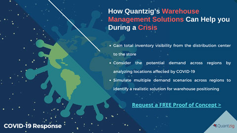 How Quantzig's Warehouse Management Solutions Can Help you During a Crisis (Graphic: Business Wire)
