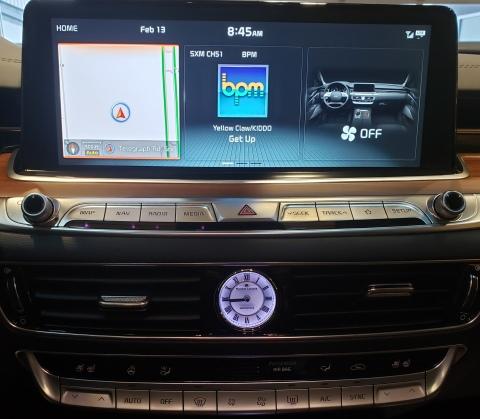 Kia K900 Dashboard Layout (Photo: Business Wire)