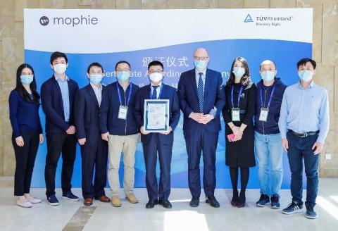 自格科技获颁TUV莱茵国内首张视网膜保护因数China-mark(中国标识)认证