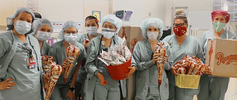 Popcornopolis Launches Giving Program in Support of Healthcare Workers (Photo: Business Wire)
