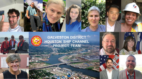USACE Galveston District Houston Ship Channel Project Team (Photo: Business Wire)