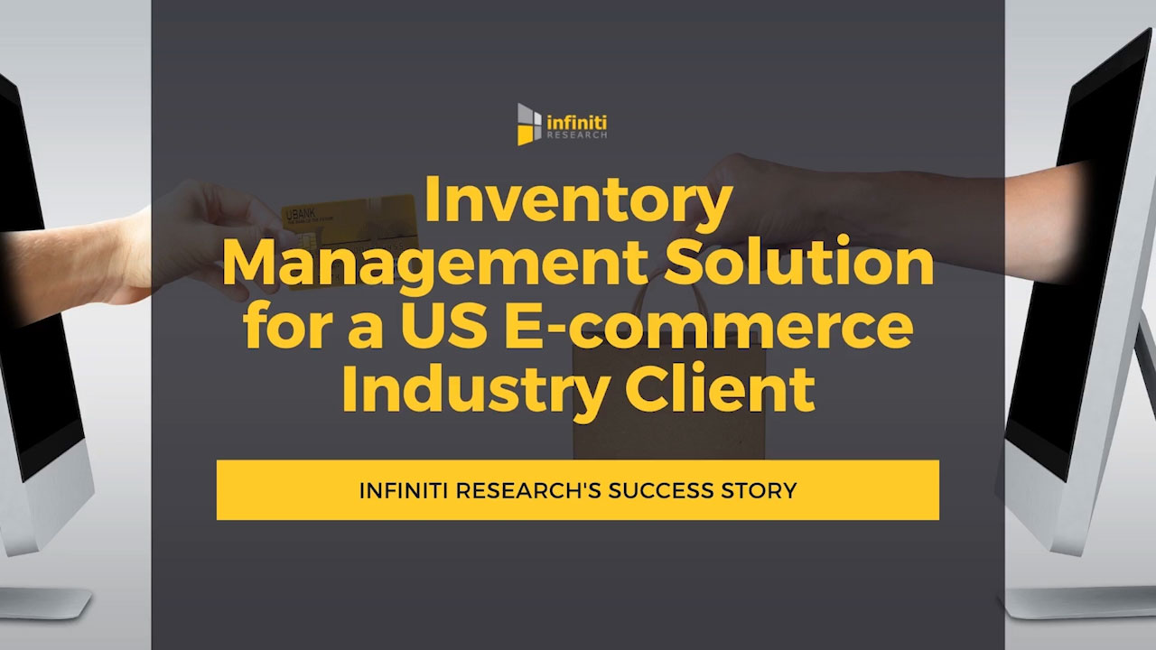 Inventory management solution for an e-commerce company