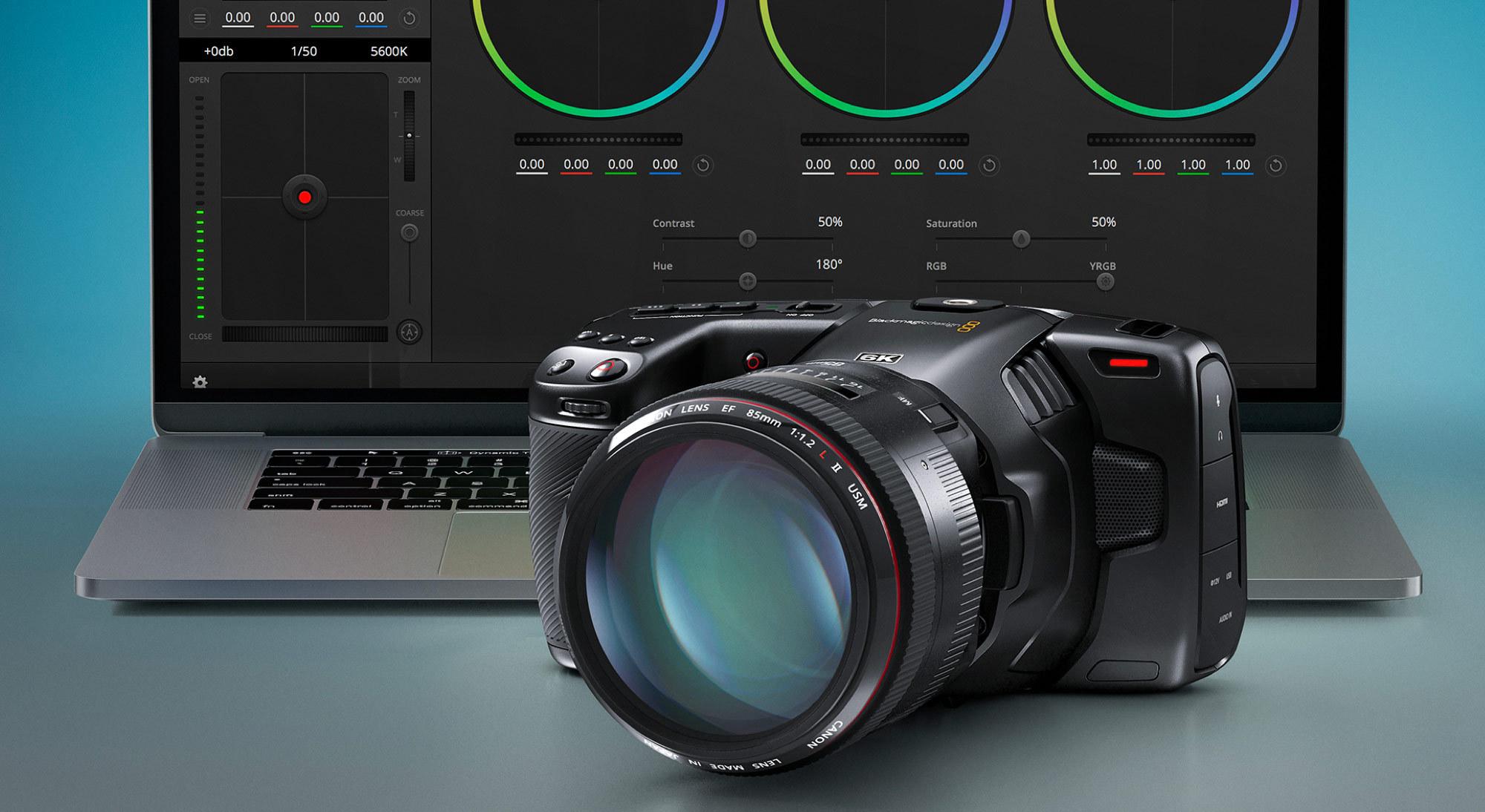 Blackmagic Design Announces New Low Price For Pocket Cinema Camera 6k Business Wire
