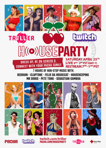 """Pacha Ibiza and Triller Present """"House Party"""" an Interactive Clubbing Experience Bringing the Ultimate Feel of Pacha Directly Into Your Home (Photo: Business Wire)"""