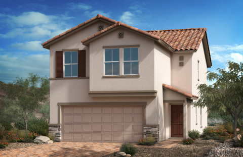 New KB homes now available in Southwest Las Vegas (Photo: Business Wire)