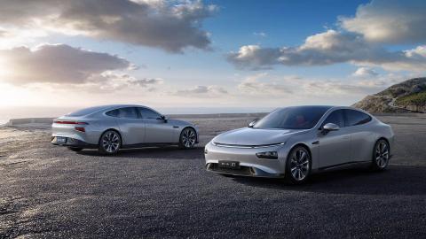Xpeng P7 super-long range smart sedan (Photo: Business Wire)