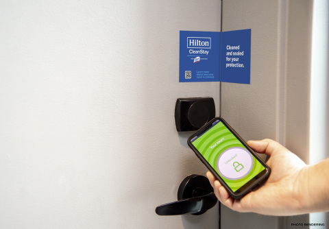 Hilton is defining a new standard of hotel cleanliness, working with RB/Lysol and Mayo Clinic to elevate hygiene practices from check-in to check-out. (Photo: Business Wire)