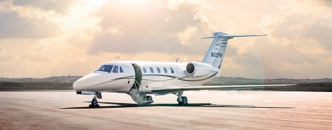 Figure 1 - We question why Synalloy owns an interest in a Cessna Model 650 jet, like the one pictured here. (Photo: Business Wire)