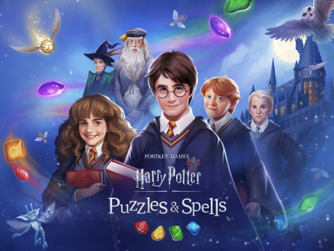 Harry Potter: Puzzles & Spells от Zynga (Графика: Business Wire)