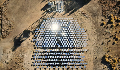 Heliogen's Commercial Facility in Lancaster, California. (Photo: Business Wire)