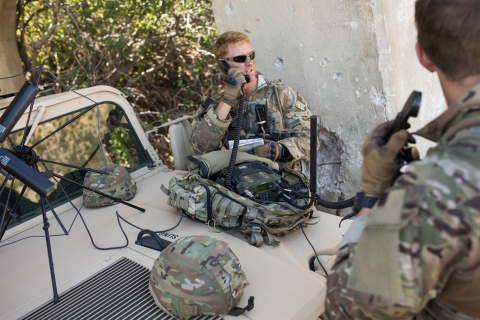 The L3Harris AN/PRC-158 will equip soldiers with cutting-edge waveforms, providing resilient SATCOM and advanced wideband networking at the tactical edge. (Photo: Business Wire)