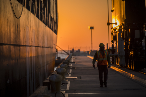 Port Houston, people on the front lines ensuring goods are delivered. (Photo: Business Wire)
