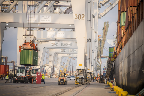 Port Houston keeping cargo moving. (Photo: Business Wire)