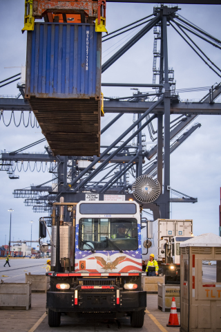Port Houston keeping goods moving. (Photo: Business Wire)