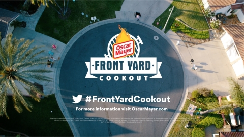 On Saturday, May 2, Oscar Mayer invites you to bring the backyard cookout to the front yard. Join us in the first-ever Front Yard Cookout, where our communities can be together, even when we're apart. (Photo: Business Wire)