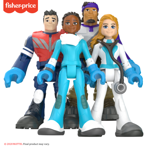 Mattel (NASDAQ: MAT) announced today the launch of #ThankYouHeroes, a new, special edition line of collectible action figures and Little People Community Champions that honors the individuals leading the fight against COVID-19 as well as the everyday heroes who are working to keep communities up and running. (Photo: Business Wire)
