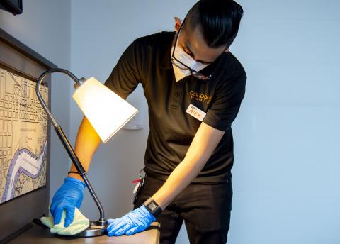 Hilton CleanStay with Lysol Protection可望於2020年6月啟動。(照片:美國商業資訊)