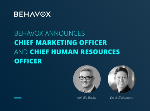 BEHAVOX ANNOUNCES KEY LEADERSHIP POSTS (Photo: Business Wire)