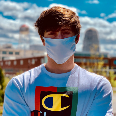HanesBrands has delivered more than 60 million cloth face coverings of the more than 320 million it is manufacturing for the U.S. government to supplement personal protection supply during the COVID-19 pandemic. (Photo: Business Wire)