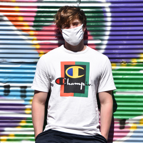 HanesBrands has delivered more than 60 million 3-ply all-cotton cloth face coverings to the U.S. government ahead of schedule. The company is manufacturing more than 320 million cloth face coverings to supplement personal protection supply during the COVID-19 pandemic. (Photo: Business Wire)