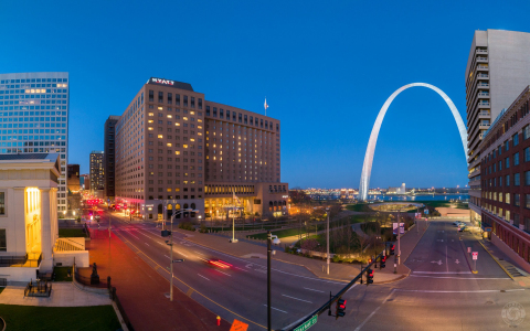 Hyatt Regency St. Louis at the Arch; photo courtesy of Christopher Taber