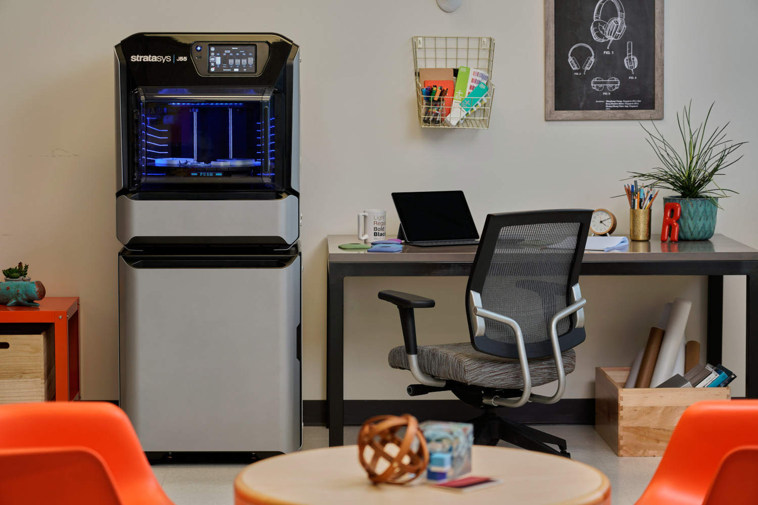 New Stratasys J55 3D Printer Gives Designers Affordable, Office ...