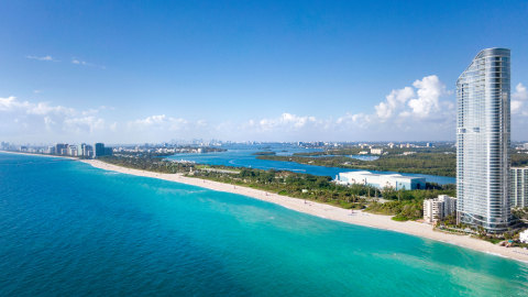 The Ritz-Carlton Residences, Sunny Isles Beach, developed by Fortune International Group and Chateau Group (Photo: Business Wire)