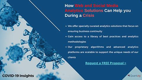 Web and social media analytics solutions