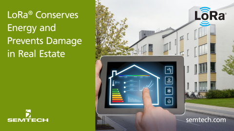 LoRa-based smart building application (Graphic: Business Wire)