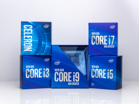In April 2020, Intel announces new desktop processors as part of the 10th Gen Intel Core processor family. (Credit: Intel Corporation)