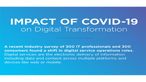 More than half of consumers experience increased digital service problems during COVID-19 period despite IT confidence in current tools and processes (Graphic: Business Wire)