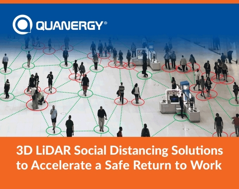 3D LiDAR Social Distancing Solutions to Accelerate Safe Return to Work (Photo: Business Wire)