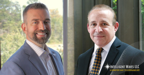 Chief Executive Officer Jared Shepard welcomes newly appointed Tony Crescenzo as President of Intelligent Waves LLC (Photo: Business Wire)