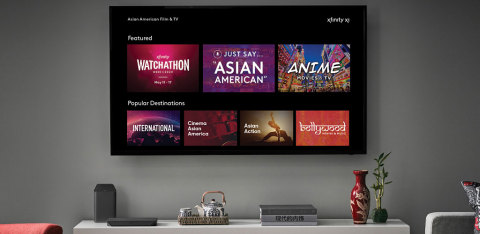 Comcast NBCUniversal Celebrates Asian American & Pacific Islander Heritage Month (Photo: Business Wire)