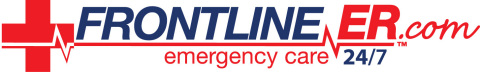 frontline er logo horz cross com - Frontline ER Donates PPE to Dallas Police Department First Responders