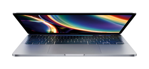 Introducing the 13-inch MacBook Pro updated with the new Magic Keyboard, double the storage, and faster graphics performance. (Photo: Business Wire)