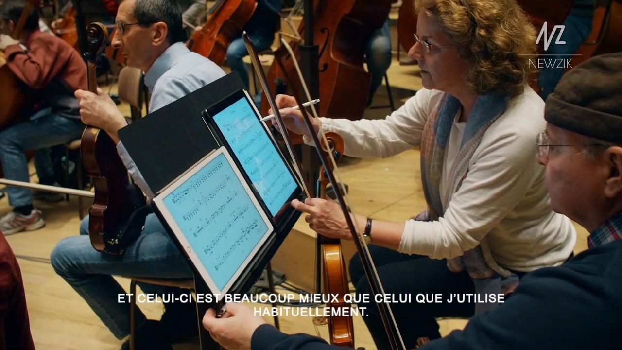 Testimonial of a Newzik customer (Tonkunstler Orchestra, Austria).