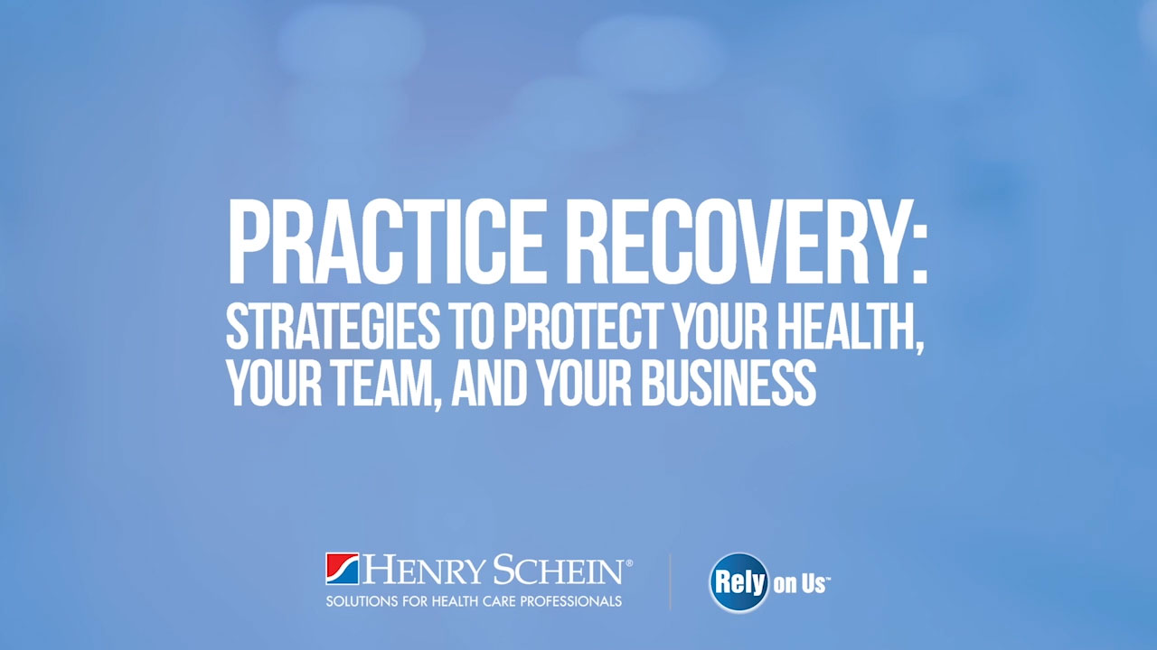 "As part of Henry Schein's continued offering of educational resources and to help customers prepare to reopen, the Company presents, ""Practice Recovery: Strategies to Protect Your Health, Your Team, and Your Business,"" on Thursday, May 7 at 2:00 p.m. Eastern time."