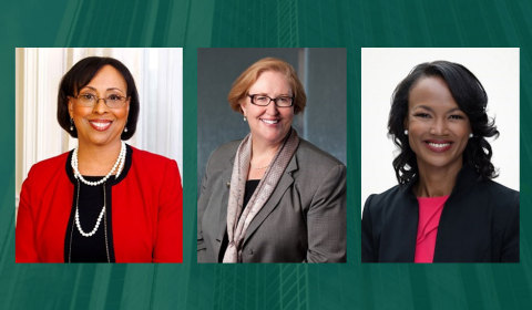 Cadence Bancorporation Board Members: Kathy Waller, Virginia Hepner and Precious Owodunni (Photo: Business Wire)