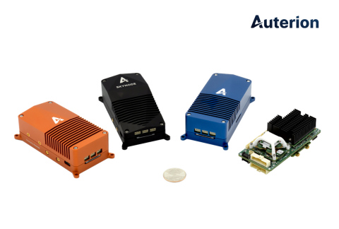 Skynode range of fully integrated and connected drone avionics modules (Graphic: Business Wire)