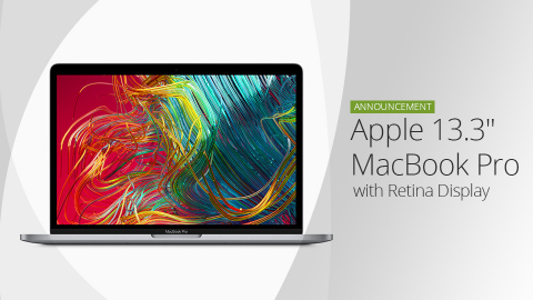 "Apple News: Apple Announces MacBook Pro 13"" with upgrades (Photo: Business Wire)"