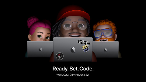 For the first time, Apple will host its Worldwide Developers Conference virtually, beginning June 22. (Graphic: Business Wire)